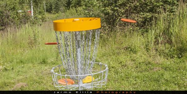 DiscCatcher ja kiekot © 2012 Jarmo Ellilä